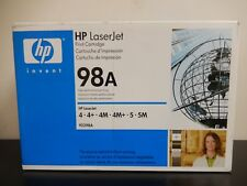 HP 92298A Black Toner Cartridge Genuine New Sealed Box Lot Of 2