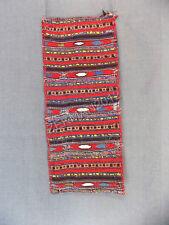 Antique Folk Bulgarian Very Rare Wedding Hand-woven Woolen Pillow Case