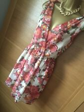 LOVELY DRESS BY PUSSYCAT OF LONDON,SIZE L Floral BNWT RRP £23.95 Sun Holiday