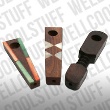 SMALL WOOD PIPE, COOL LITTLE HAND MADE WOOD PIPES, ASSORTED WOOD PIPES
