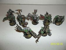 Warhammer 40K Ork Nobz Pro Painted X7   A8