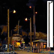 Busch 4111 Bahnhofsleuchte (LBL), H0 Miniaturwelten Bausatz 1:87