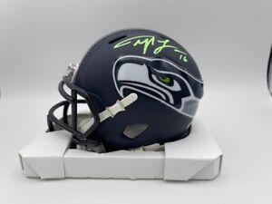 Tyler Lockett Signed Speed Seattle Seahawks Mini Helmet COA Hologram
