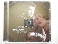 Johnny Hallyday cd album De L'Amour