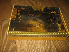 Vintage La Flor De Luis Martinez Cardboard cigar box empty box
