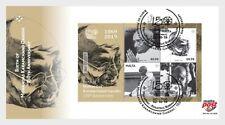 Malta 2019 malte Birth of Mohandas Karamchand Gandhi 150th Anniversary ms1v FDC