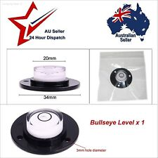 Round Bulls Eye Bubble Caravan Fridge Level. Camper Trailer Pop Top Van Bullseye