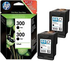 2x ORIGINAL HP 300 TINTE PATRONEN DESKJET D1660 D2560 D2660 D5560 F2420 F2480