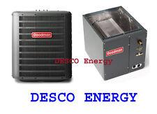 Goodman 3.5 Ton 14 Seer Air Conditioner w/Cased Coil GSX140421 + CAPF4860