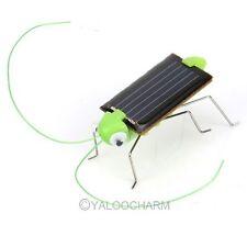 Energie Sauterelle Solaire Jouet Gadget Insecte Robot Pour Enfant Garçon Cadeau