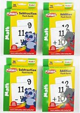 Playskool Addition & Subtraction Flash Cards Set of 4