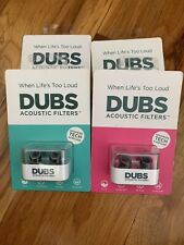 DUBS Acoustic Filters 12 dB NR Hearing Protection Ear Plugs- DISCONTINUED