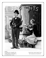 "Charlie Chaplin poster City Lights 16"" x 20"""