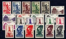 FRENCH COLONIES -  DAHOMEY - GOOD SET OF VERY FINE MNH STAMPS, YT 120-141
