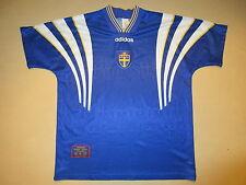 Vintage 1996 Team Sweden SFF Adidas National World Cup Jersey Shirt Adult XL