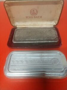 ROLLS RAZOR (2) UNITS....VINTAGE RAZOR SETS FROM ENGLAND 1 WITH OUTER CASE