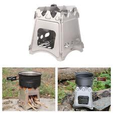 Outdoor Holz Campingkocher Leichter Holzofen Faltbarer Kocher Picknick Grill BBQ