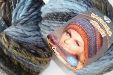 Wolle Kreativ! Lana Grossa - Olympia - Fb. 61 grau/blau/oliv 100 g