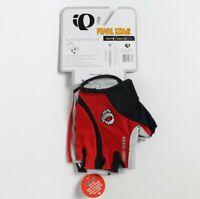 Pearl Izumi Cycling Gloves Men ELITE Gel Vent Red Bike Bicycle M New