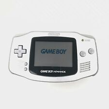 Nintendo Gameboy Advance GBA Silver Case Console Only Tested and Working No Back
