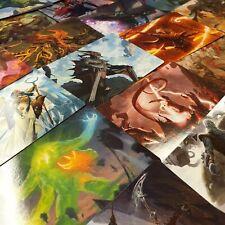 Zendikar steigende Kunst Serie komplett 81 Karten Set