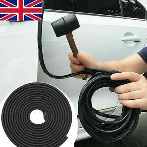 5M Car Door Boot Edge Protector Strip Trim U Shape Guard Seal Rubber Black UK