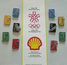 Calgary 1988 Olympic Winter Games Shell Oil Official Sponsor Collection