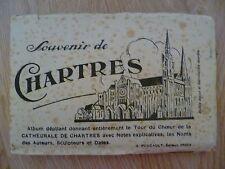 Postcard- Souvenir de Chartres Full Set- La Chartres.....20 pcs