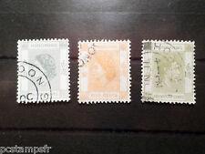 HONG-KONG, CHINE, LOT 3 timbre GEORGE VI ELISABETH, 176 181 et 149, oblitéré