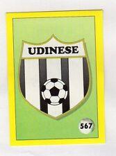 figurina IL GRANDE CALCIO VALLARDI 1992 NUMERO 567 UDINESE SCUDETTO