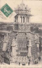 TOURS 13 LL cathédrale saint-gatien et lanterne de la tour nord timbrée