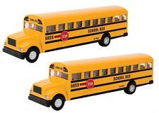 Schylling Large School Bus Die Cast Toy Durable Worldwide