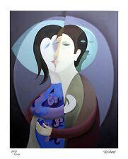 "Phillipe Marchand ""The Kiss"" Original Serigraph (Silkscreen)"