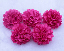 100pcs/Lot Wholesale Rose red NEW Daisy Artificial Silk Flower Heads Wedding