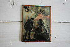 Vintage Silhouette Picture Couple