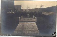 Photographie ancienne - Etterbeek - Tombe des fusillés