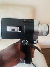 Minolta Autopak-8 D6 Super 8 Film Camera w/ Case