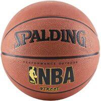 "Spalding NBA Street Outdoor Basketball, Size 7 - Official Size (29.5""), Orange"