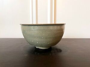 Korean Ceramic Celadon Deep Bowl Goryeo Dynasty