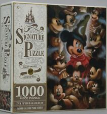Disney Parks Signature Mickey Mouse Through the Years 1000 Piece Puzzle