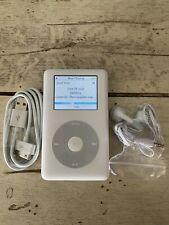 New ListingApple iPod Classic 4th GenerationPhoto 60Gb Refurbished Bundle Free Shipping