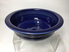 "Vintage (1936-73) COBALT BLUE FIESTA 8-1/2"" NAPPY BOWL Homer Laughlin Fiestaware"