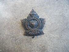 WWI era Overseas Batallion Duke of Connaught's Own British Columbia Canada pin
