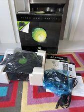 Xbox Original Console Boxed VGC