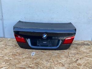 TRUNK COVER SHELL COMPLETE REAR DECK LID CAMERA BMW 550I 535I 528I (11-16) OEM