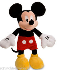 Disney Store Mickey Mouse Red Shorts Plush Toy Exclusive Original New