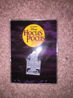 Hocus Pocus Billy's Tombstone Pin Cakeworthy Disney Halloween