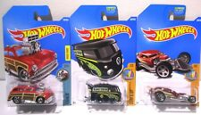 Hot Wheels Surf's Up Surfing Diecast Toy Volkswagen Station Wagon Van Cars Lot