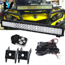 12v 23 Inch SXS UTV + Harness Wiring Kit Combo for DIY All Polaris Honda
