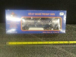 0/0-27 Gauge BudDry Tank Car Model Train K-6354